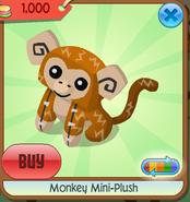 Monkey mini-plush 1