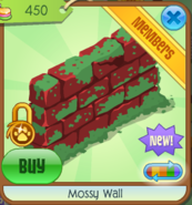 Mossy Wall red