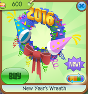 New-Years-Shop New-Years-Wreath Blue