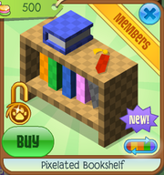 Shop Pixelated-Bookshelf