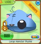 Large-Hamster-Plushie Blue Shop