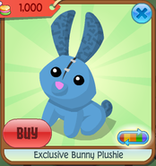 Exclusive bunny plushie 8