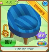 Shop Circular-Chair Blue