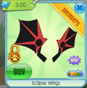 Eclipse Wings red