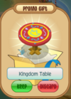 Kingdom table