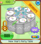 New-Years-Shop New-Years-Party-Table Grey