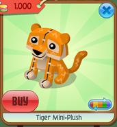 Tiger mini-plush 1