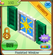 Pixelated window 2