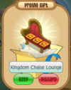 Kingdom chaise lounge