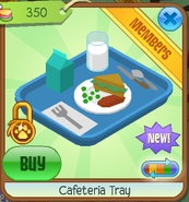 Cafeteria tray 1