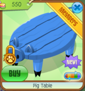 PigTable Blue(9)