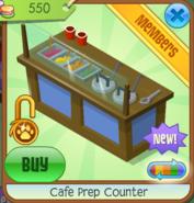 Cafe Prep Counter - Blue (2)