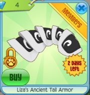 Liza's Ancient Tail Armor
