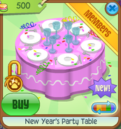 New-Years-Shop New-Years-Party-Table Pink