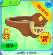 Waffle Amulet