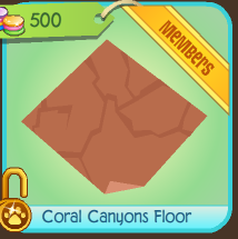 Coral Canyons Floor