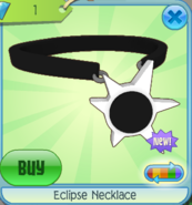 Eclipse Necklace white