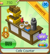 Cafe counter 6
