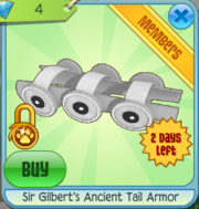 Sir Gilbert's Ancient Tail Armor
