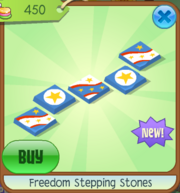 Freedom Stepping Stones