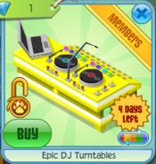 Epic-DJ-Turntables-Yellow