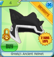 Greely's Ancient Helmet
