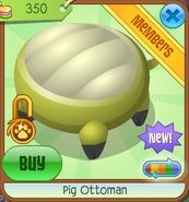 Shop Pig-Ottoman Yellow