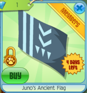 Junos Ancient Flag