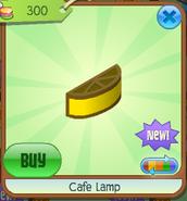 Cafe lamp 3