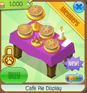 Cafe pie display 4