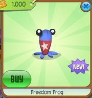 Freedom Frog Plushie
