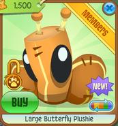 Large-Butterfly-Plushie Orange Shop