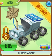 Lunar-Rover White Shop
