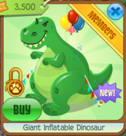 Giant Inflatable Dinosaur