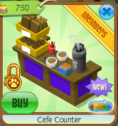 Cafe counter 7