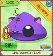 Large-Hamster-Plushie Purple Shop