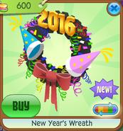 New-Years-Shop New-Years-Wreath Black