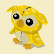 Item Exclusive Owl Plushie yellow-leaf