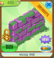 Mossy Wall pink