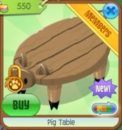 PigTable Brown(10)