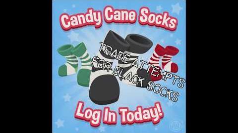 Aj trade attempts black socks