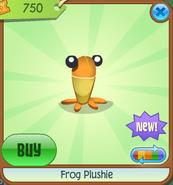 Frog-Plushie Orange Shop