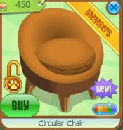 Shop Circular-Chair Orange