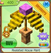 Pixelated house plant 2
