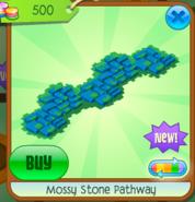 Mossy Stone Pathway blue