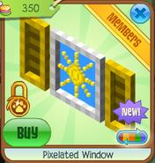 Pixelated window 3