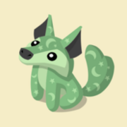 Item Exclusive Coyote Plushie green