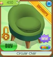 Shop Circular-Chair Green