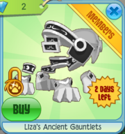 Liza's Ancient Gauntlets