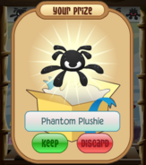 The-Claw Phantom-Plushie White